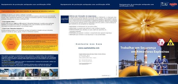 Equipamento de protecção antiqueda com certificação ATEX                                                            Equipa...