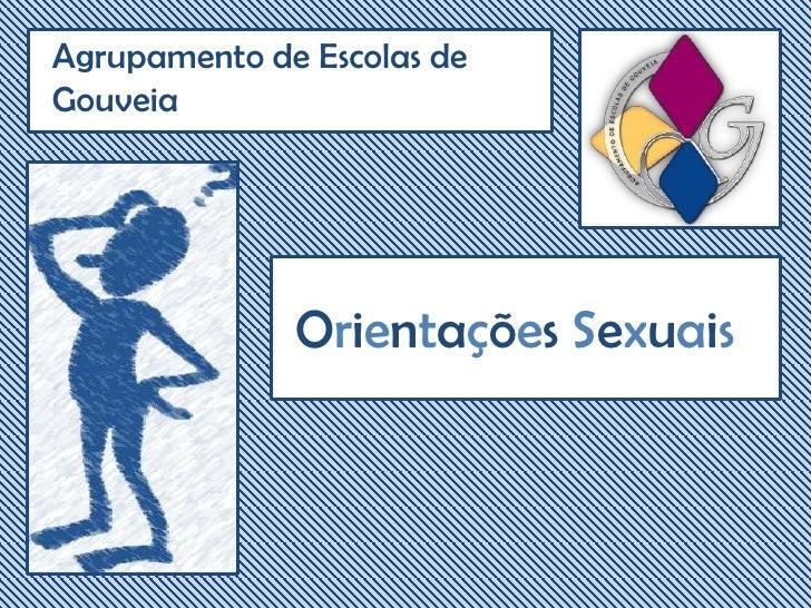 Agrupamento de Escolas de Gouveia<br />Orientações Sexuais<br />