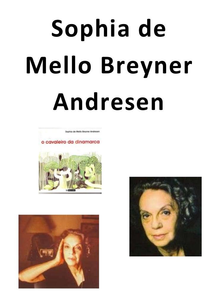 Sophia deMello Breyner Andresen