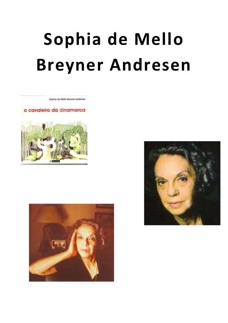 Sophia de MelloBreyner Andresen