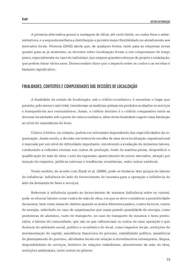 deda1e3d2 EaD Fernanda Pasqualini – Alceu de Oliveira Lopes – Dieter Siedenberg Em se  tratando de demanda (influência sobre a receita), pode-se citar fatores  como a ...