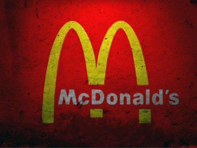 McDonalds é  uma empresa responsável  por uma rede  internacional  de lanchonetes, cuja  atividade é conhecida  como fast-...