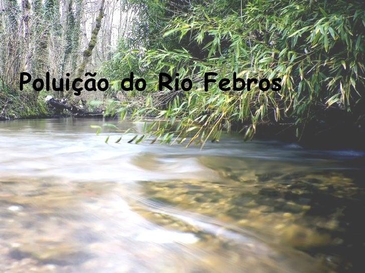 Poluição do Rio Febros