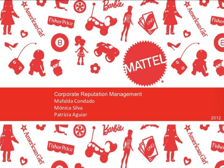 mattel toy recall case study Mattel and the toy recalls (a) case solution, august 14, 2007, the consumer product safety commission united states (cpsc), in cooperation with mattel announced five recalls of mattel toys.