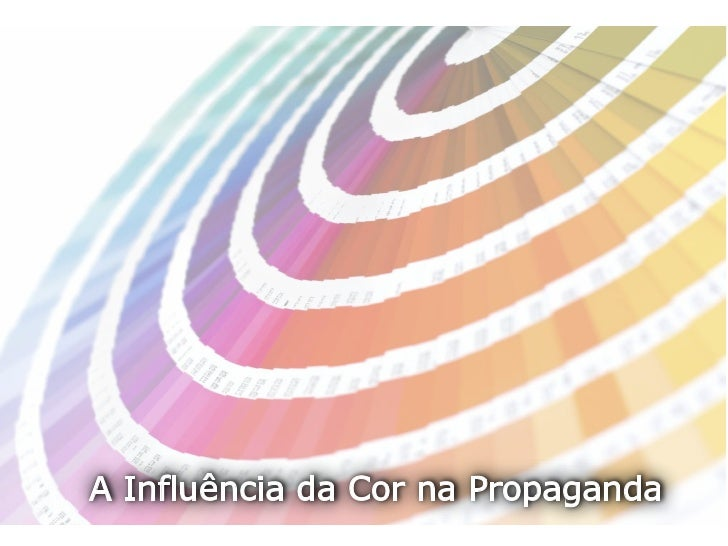 A Influência da Cor na Propaganda