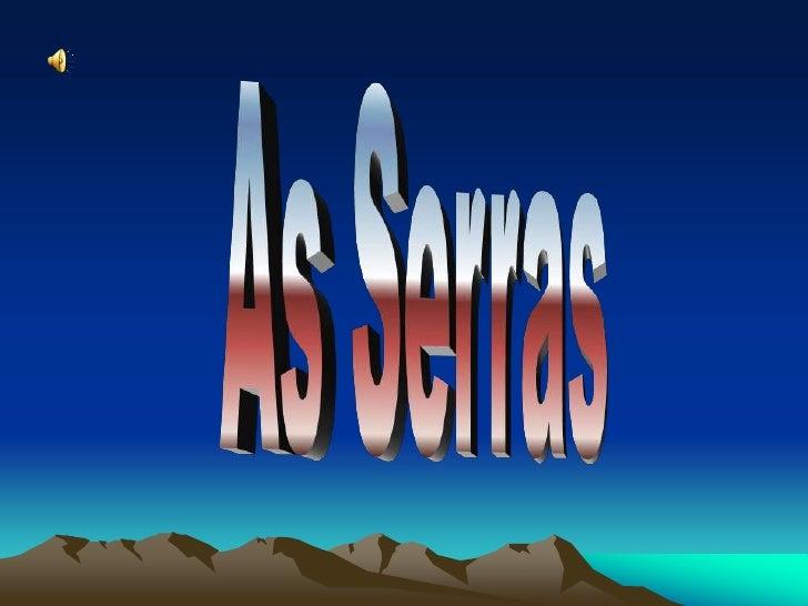As Serras<br />