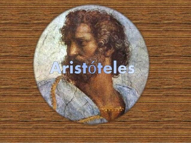 • Aristóteles, filósofo grego que viveu entre 384 a 322 a.C era discípulo de Platão, até que por divergências sobre as con...
