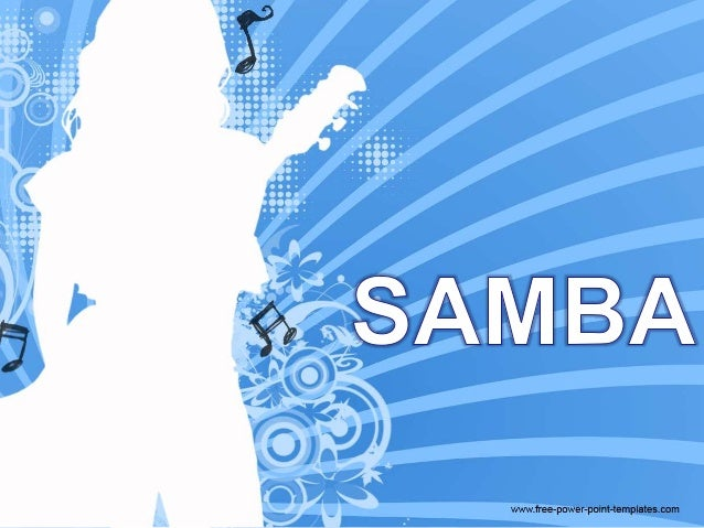 O samba surgiu da mistura de estilos musicais de  origem africana e brasileira.  É tocado com instrumentos de percussão (t...