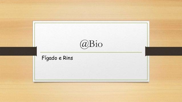 @Bio Fígado e Rins