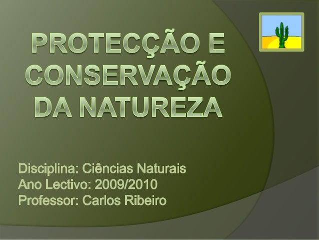 Protecção da Natureza