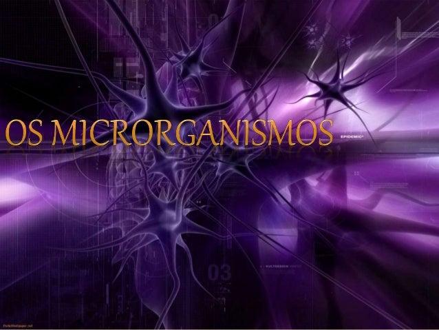 O QUE SÃO OS MICRORGANISMOS? Microrganismos é o nome dado a todos os organismos compostos por uma única célula e que não p...