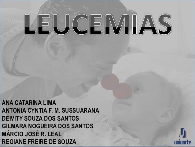 ANA CATARINA LIMAANTONIA CYNTIA F. M. SUSSUARANADEIVITY SOUZA DOS SANTOSGILMARA NOGUEIRA DOS SANTOSMÁRCIO JOSÉ R. LEALREGI...
