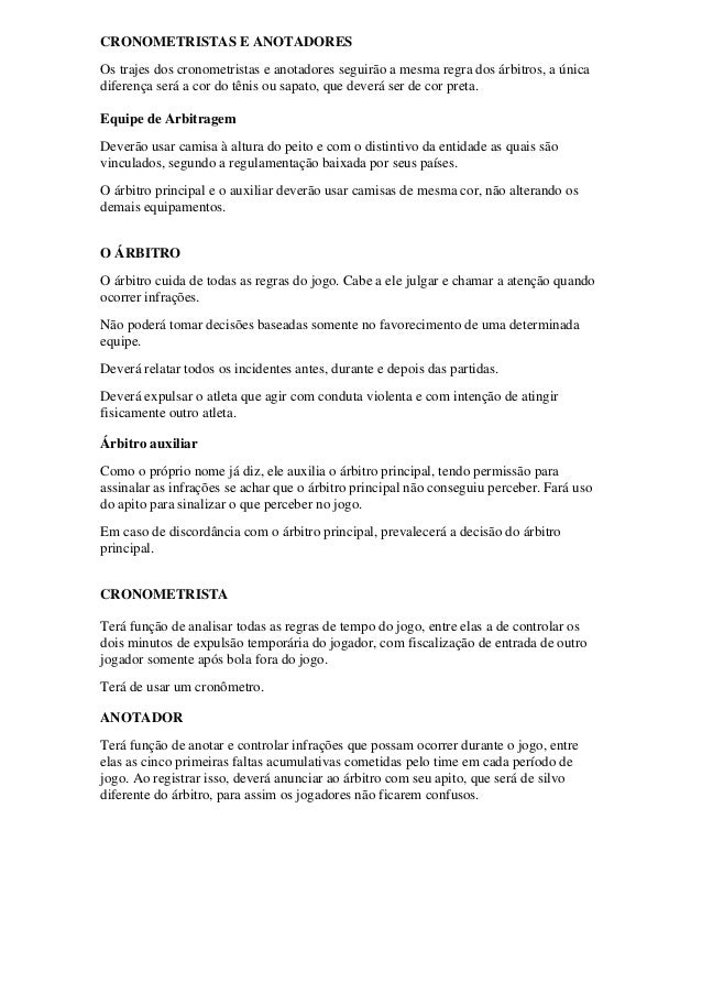 Trabalho de educação fisica regras do futsal b17d0c507cac0