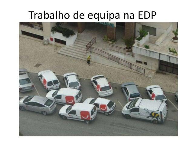 Trabalho de equipa na EDP