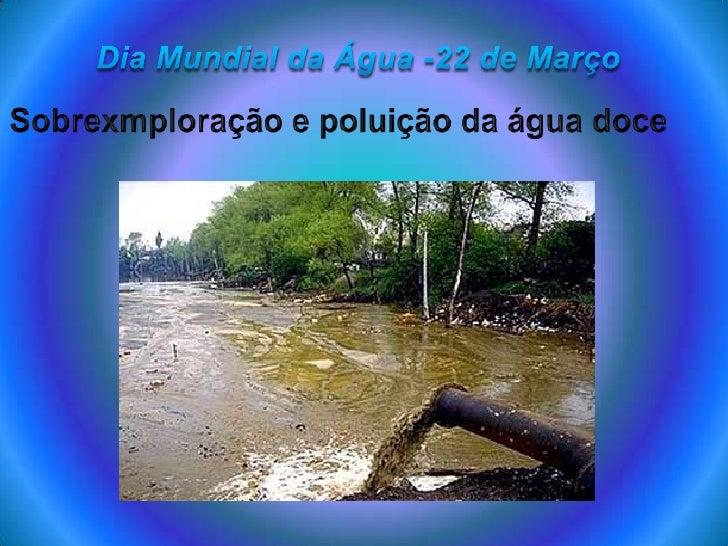 """No âmbito da Disciplina de Geografia   vamos realizar um trabalho, ao qual o   tema principal é o """" Dia Mundial Da   Agua ..."""