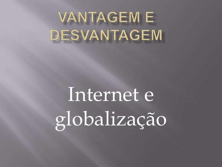 Internet eglobalização