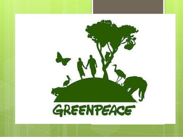 O que é a Greenpeace?A    Greenpeace é uma organização  mundial de campanhas que age para  mudar atitudes e comportamento...