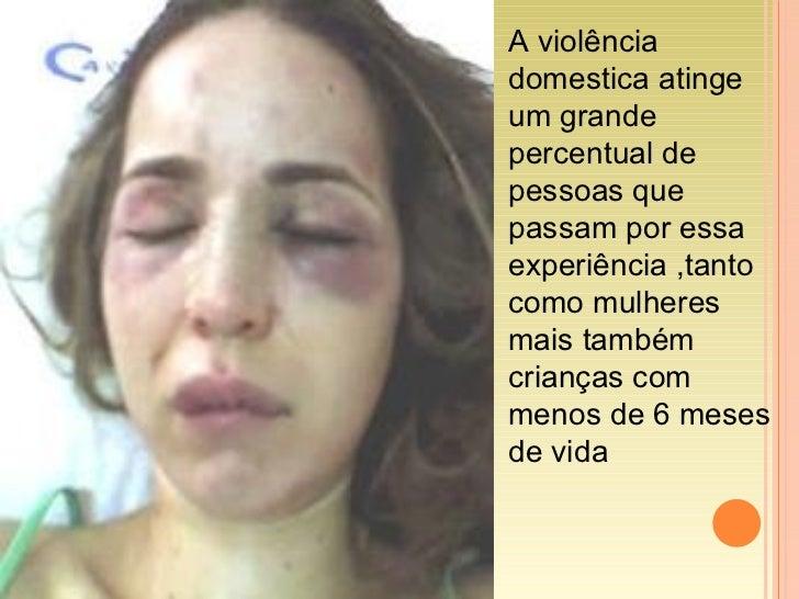 A violência domestica atinge um grande percentual de pessoas que passam por essa experiência ,tanto como mulheres mais tam...