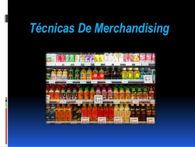 Técnicas De Merchandising