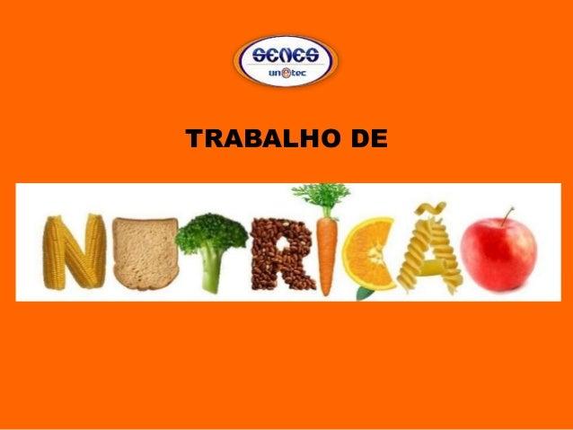 TRABALHO DE
