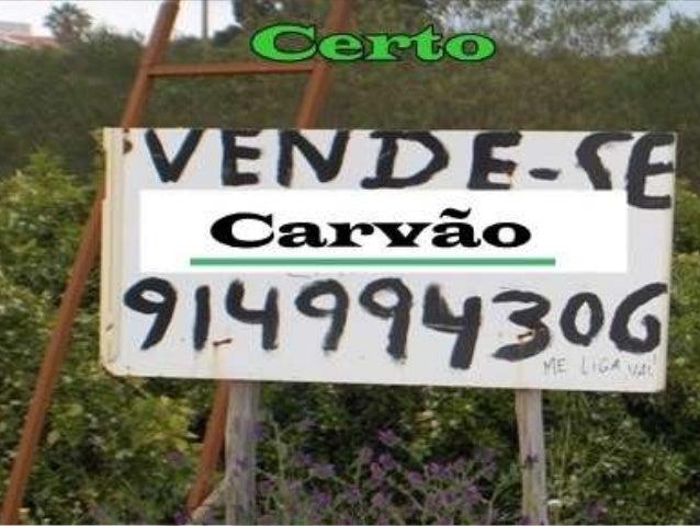 Trabalho de portugues(placas)