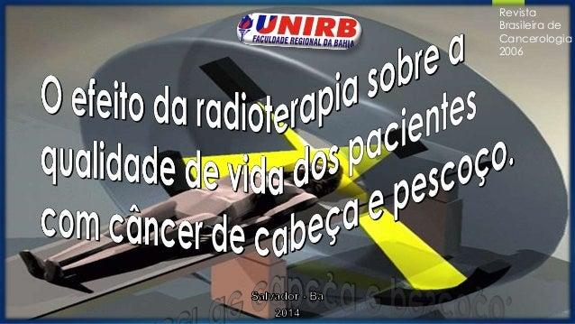 Revista  Brasileira de  Cancerologia  2006