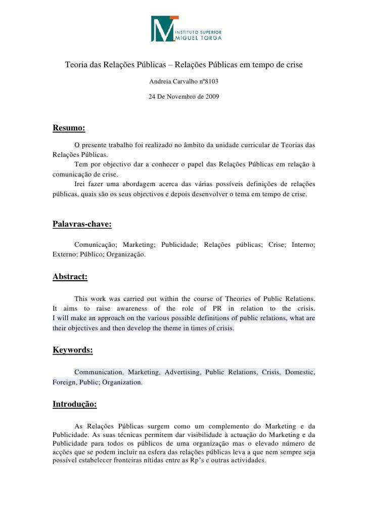 Trabalho de teorias das relaes pblicas (2)