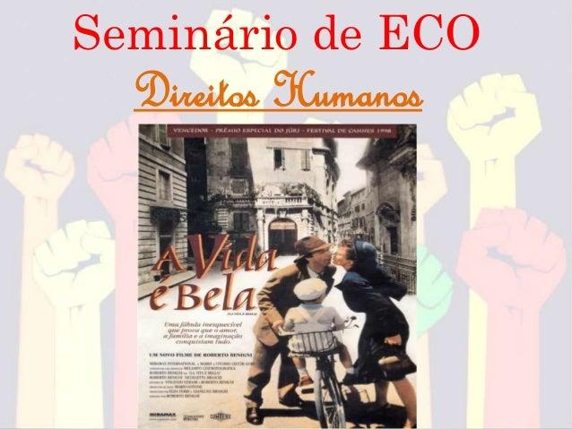 Seminário de ECO Direitos Humanos