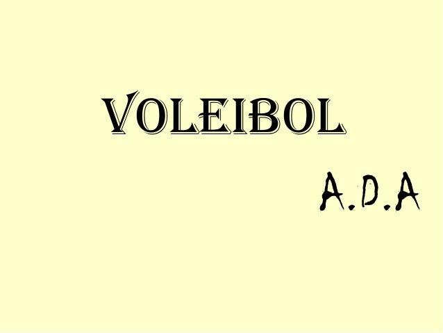 VoleibolA.D.A