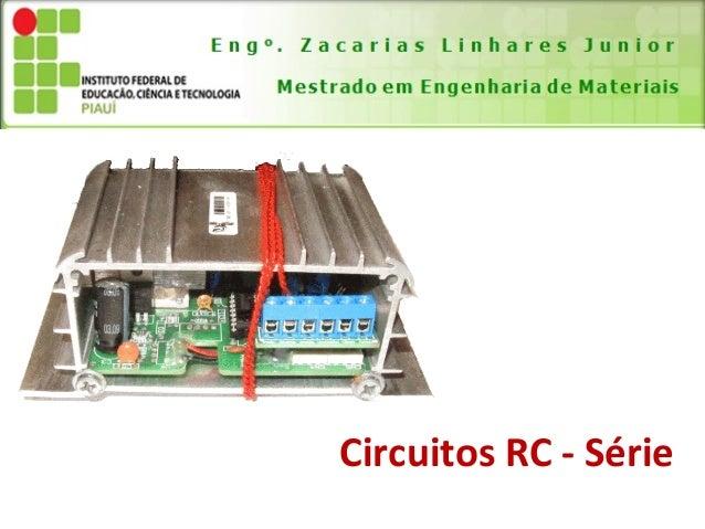 Circuitos RC - Série