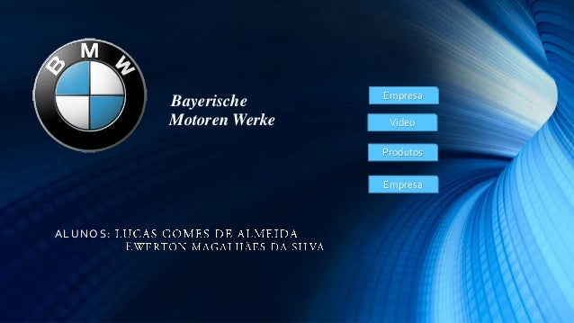 Bayerische Motoren Werke  Empresa Video  Produtos Empresa  A L UNO S:
