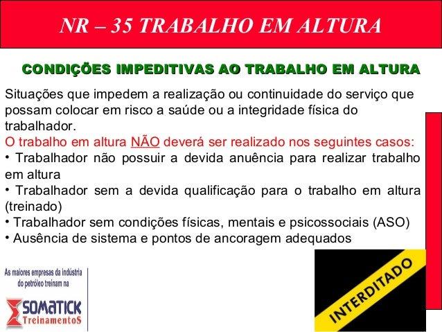 NR – 35 TRABALHO EM ALTURA ACIDENTES TÍPICOSACIDENTES TÍPICOS  11. 98ea62bcc0