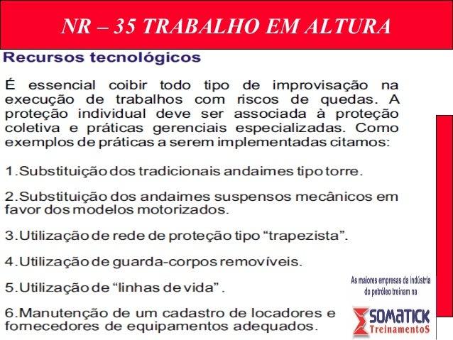 NR – 35 TRABALHO EM ALTURA ... 427f4204ba