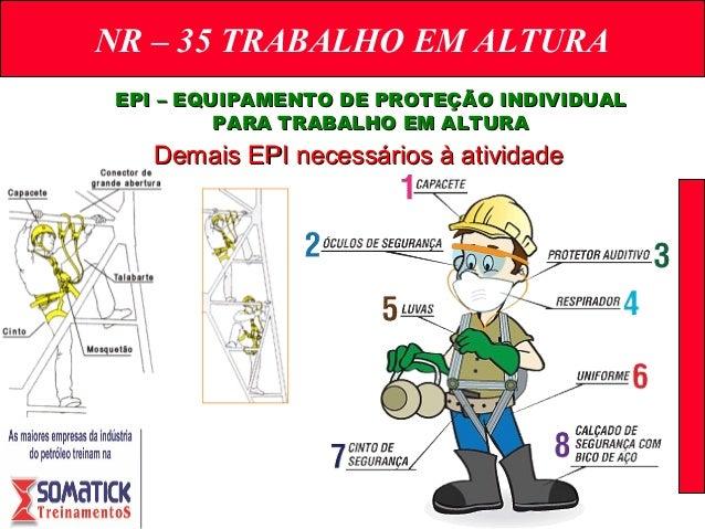 fde2e351cb7ed NR – 35 TRABALHO EM ALTURA EPI ...