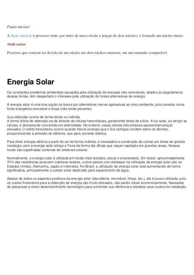 Tipos de Energia Slide 3