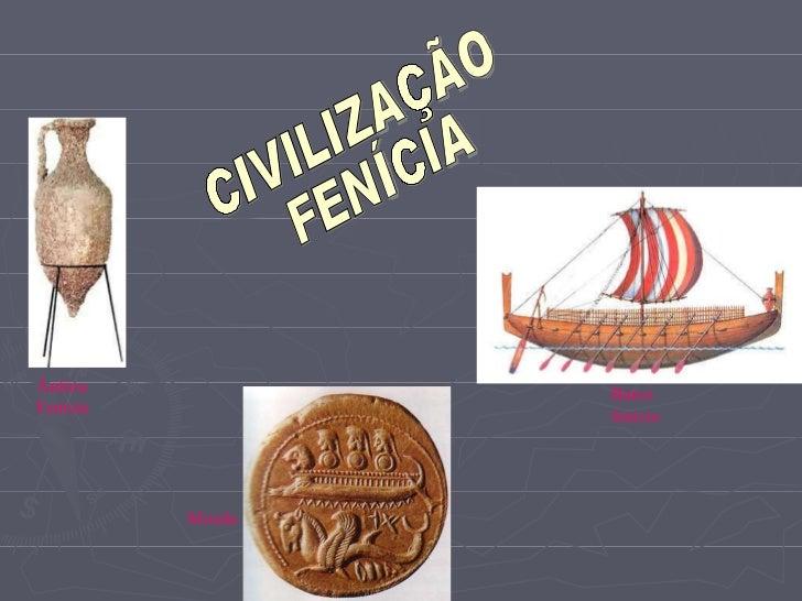 Barco  fenicio       Ânfora Fenícia...