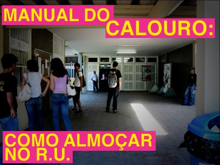 Manual do Calouro - RU