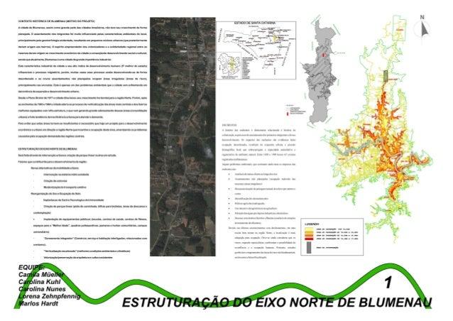 Estruturação do eixo norte de Blumenau