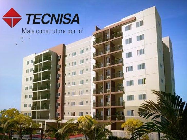 OBJETIVOS-Vender 100% das unidades pela internet.- Criar mais um case para a coleção da Tecnisa.-Fortalecer e divulgar ain...