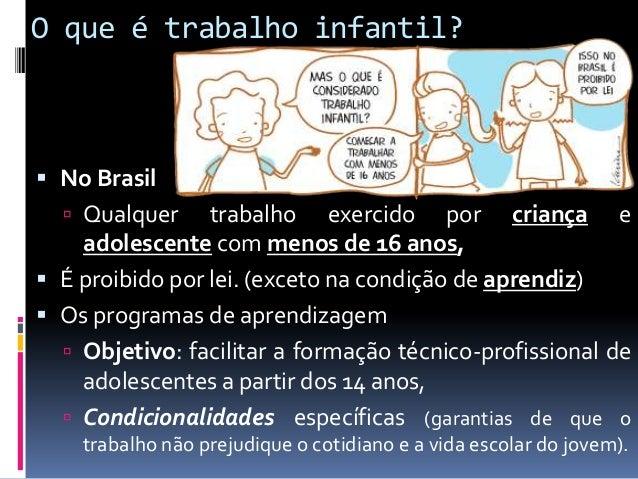 Trabalho infantil apresentação Slide 2