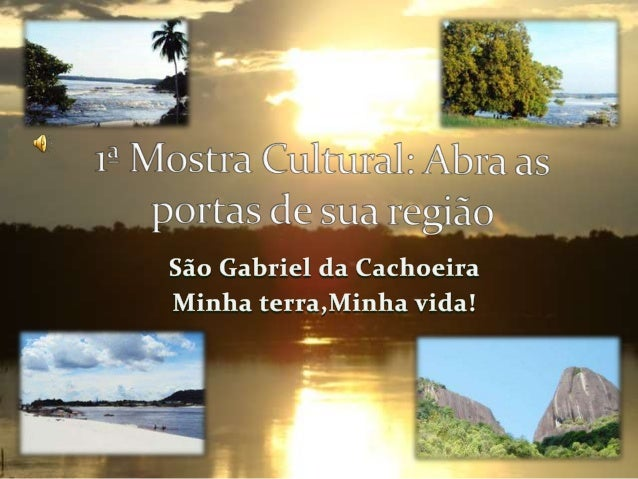 São Gabriel da Cachoeira é um município situado no extremo noroeste do estado brasileiro do Amazonas.Aproximadamente 852 q...
