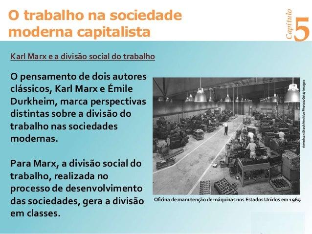 Trabalho Sociedade Capitalista Slide 2