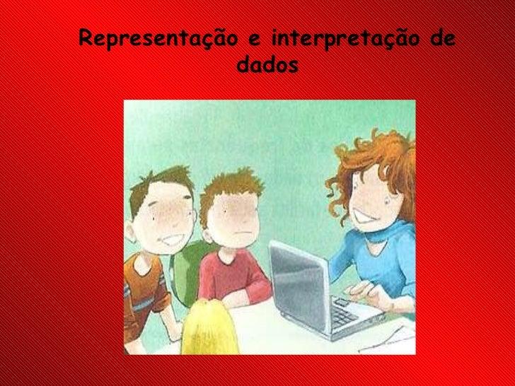 Representação e interpretação de dados
