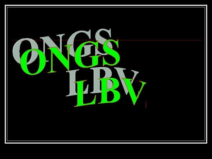 ONGS LBV...