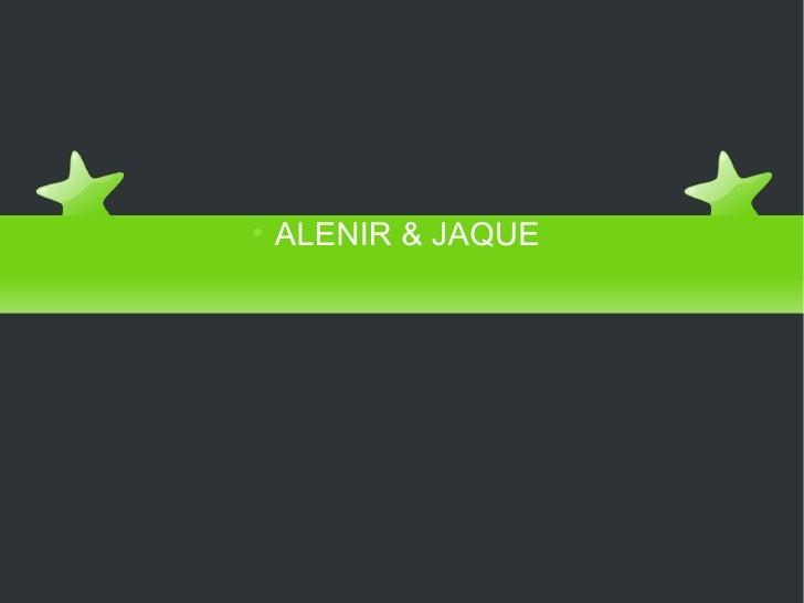 COOPERAÇÃO OU INTERAÇÃO NA REDE <ul><ul><li>ALENIR & JAQUE </li></ul></ul>