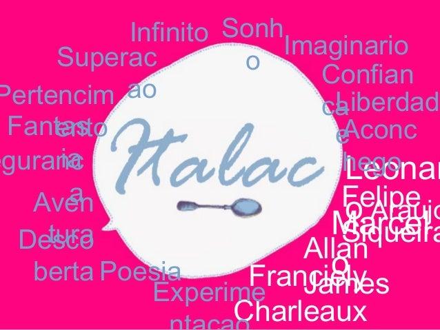 Franciely Charleaux Allan James Leonar o AraujoFelipe SiqueiraMarcel o Aconc hego Experime Poesia Liberdad e Imaginario De...
