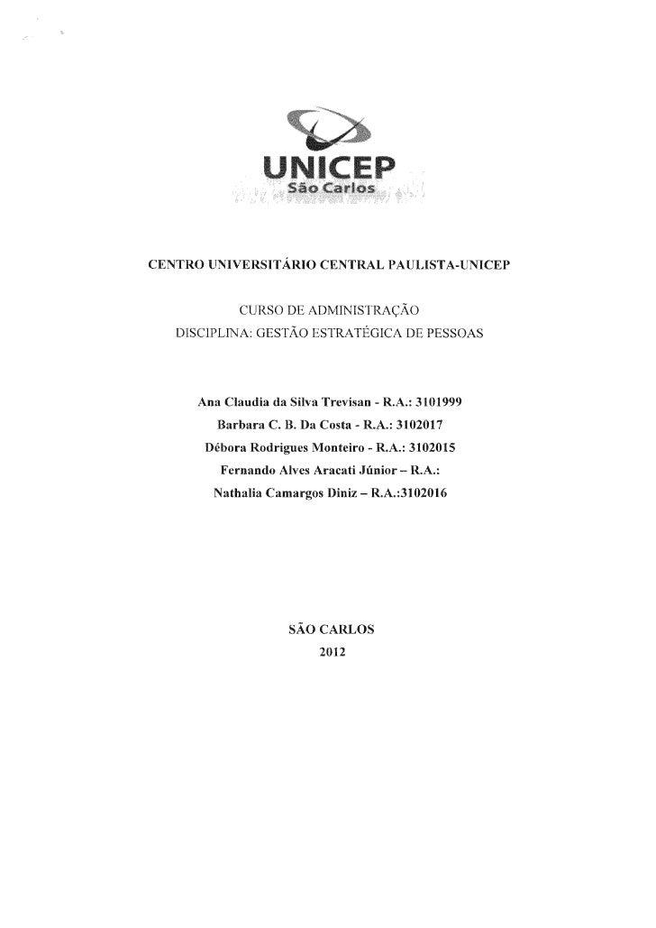 PLANOS DE CARREIRA:DEFICULDADES E SOLUÇÕES PARA OS ESTÁGIOS DO CICLO DE VIDAPROFISSIONAL