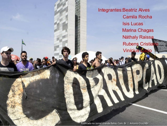 Integrantes:Beatriz Alves Camila Rocha Isis Lucas Marina Chagas Náthaly Raissa Rubens Cristiano Vinícius Lúcio