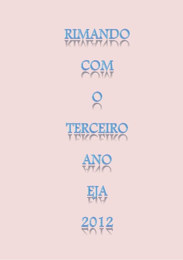 RIMANDO COM           JORGE AMADO                                                Dezembro de 2012                         ...