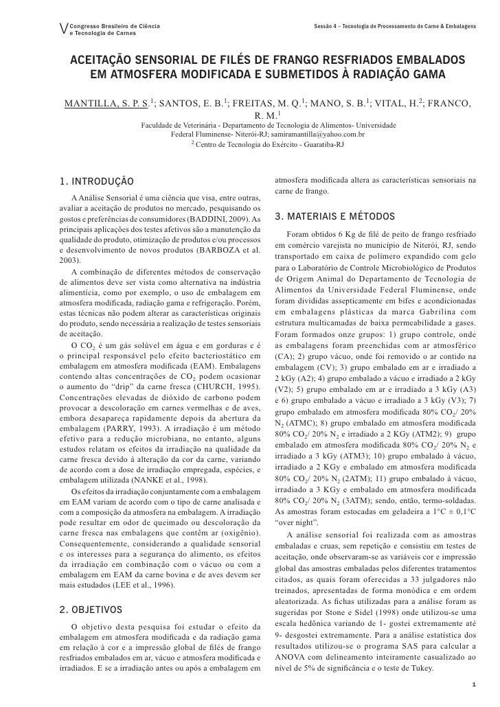 V Congresso Brasileiro de Ciência   e Tecnologia de Carnes                                                                ...